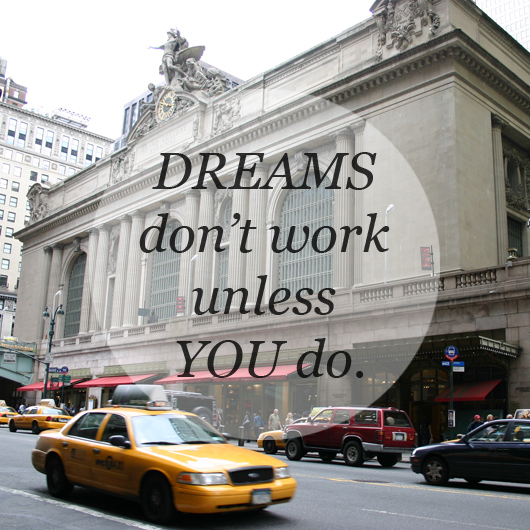 Photospiration: Dreams Don't Work...