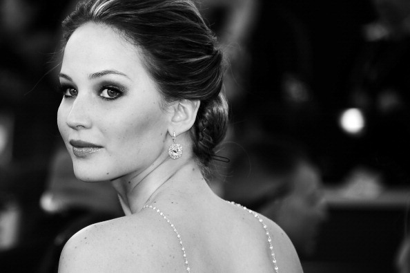 US-OSCARS-ARRIVALS-BLACK-WHITE